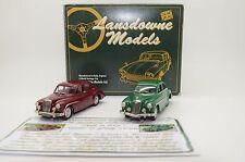 Mega RARE ! MG Magnette ZA LDM 3 & Wolseley LDM 70 Brooklin Lansdowne 1/43