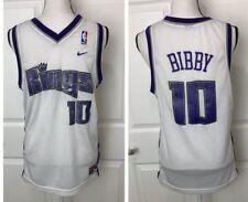 MIKE BIBBY Vintage Sacramento Kings Jersey YOUTH XL Nike Basketball Adult Small?