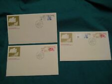 Lot of 3-1976 Fd Issue-official Canada P.O. Cachet-#687-88-$1/$2 Olympics Sites