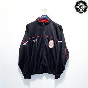 1996/97 LIVERPOOL Vintage Reebok Football Track Top Jacket (XL) Fowler McManaman