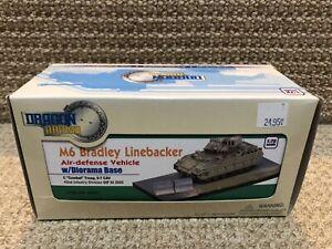 "Dragon Armor 1:72 M6 Bradley Linebacker, ""Combat"" w/dio base,OIF 2005, No. 60401"