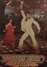 Saturday Night Fever Vintage Poster Original Movie Pin-up Disco Travolta 1970's