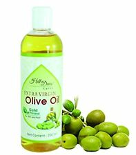 HillDews Extra Virgin Olive Oil- 200ml -Cold Pressed - For Skin & Hair