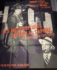 Les Incorruptibles Défient Al Capone / Scarface Mob / 120x160