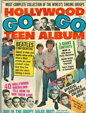 Hollywood Go Go Teen Album magazine #7 The Beatles john lennon Ann Margret 1965