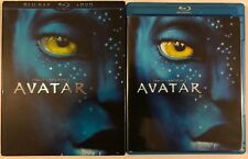 AVATAR BLU RAY DVD 2 DISC + SLIPCOVER SLEEVE FREE WORLD WIDE SHIPPING BUY IT NOW