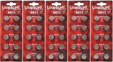 50 LR44 AG13 357 357A A76 303 L1154 1.5 Volt Alkaline Batteries Ships From USA