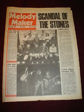 MELODY MAKER 1976 MAY 29 ROLLING STONES WHO LED ZEPPELLIN SLIK MILES DAVIS