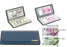 Lindner Taschen-Album für 20/40x MEMO-Euro od. 0-Euro Souvenir Scheine Banknoten