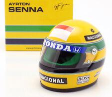 Ayrton Senna F1 Racing Helmet McLaren Honda 1990 1:2 (Minichamps AS-HS-1990)