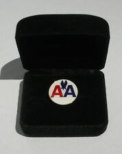 American Airlines AA Replica Logo Tac Lapel Pin Classic Pilot Flight Attendant
