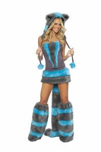 Deluxe Katzen Kostüm Chester Gr.36-38 komplett Mieze Katzenkostüm flauschig USA