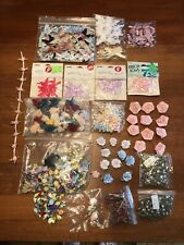 Silk Flowers Silk Bows Mini For Wedding Crafts Sewing Large Lot