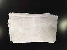"""36 Microfiber White 12""""x12"""" Cleaning Detailing Cloths Towel Auto Car"""