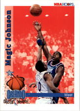 Magic Johnson #309 Hoops 1992/93 NBA Basketball Card