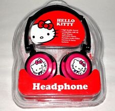 HELLO KITTY HEADPHONE OVER THE EAR BY SANRIO