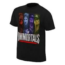 Wwe Immortals small t shirt undertaker kane daniel bryant john cena wwf wcw