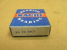 NIB NACHI R6ZZMC3 BEARING METAL SEALED R6 ZZ MC3 R6ZZ