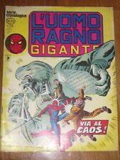 Italian ed L'UOMO RAGNO - SPIDER MAN gigante # 29 Marvel Corno serie cronologica