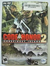 Code of Honor 2: Conspiracy Island - PC, 2008, with Slipcover!!!
