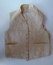 WAR OF 1812 ORIGINAL PERIOD AMERICAN  YOUNG MAN'S VEST NOT SWORD CIRCA 1810-14