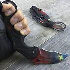 "7"" WARTECH NEBULA GALAXY KARAMBIT SPRING ASSISTED FOLDING POCKET KNIFE Hawk Claw"
