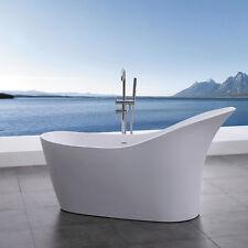 DESIGNER SOLID SURFACE STONE BATHTUB MATT FINISH FREE STANDING 1680 x 880 x 760