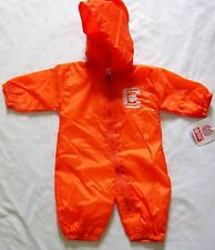 Clemson Tigers Baby Infant Wind Suit Coverall NWT 6/9M