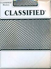 Black Net Stockings by Classified Onesize