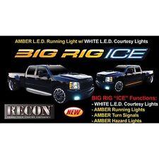 "RECON 26413X 48"" BIG RIG ""ICE""  Amber Running Lights LED"