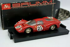 Brumm 1/43 - Ferrari 330 P4 Le Mans 1967 No.21