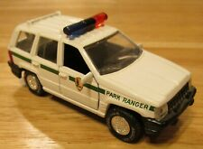Road Champs Die Cast 1:43 Scale Park Ranger Jeep Grand Cherokee 1999 Model