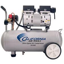 California Air Tools SP Ultra Quiet & Oil-Free 1-HP 5.5-Gallon Steel Tank Air...