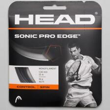NEW Head Sonic Pro EDGE 16 G Guage Tennis String 40 foot Pack Set Anthracite