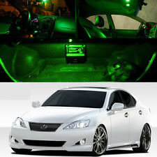 Green SMD Car LED Interior Lights Package Kit For 06-13 Lexus Is250 Is350 ISF