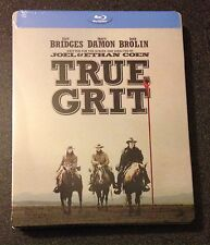TRUE GRIT Blu-Ray SteelBook Best Buy Exclusive Ltd Ed New OOP Sold Out Very Rare