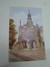 A R QUINTON Postcard 3272 THE CROSS, CHICHESTER Franked+Stamped 1956  §A2913