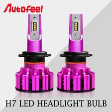 1Pair 1870W 172000LM H7 LED Headlight Kit Bulbs 6500K White Light High Power HID