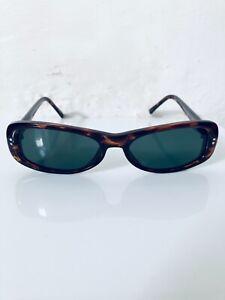 90's Lozenge Men's Rectangular Deadstock Tortoiseshell Effect Sunglasses
