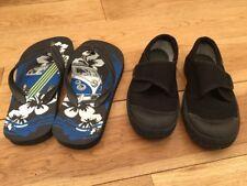 Boys Bundle Of Shoes Size 8.5-9.5 Clarks Doodles  <D635