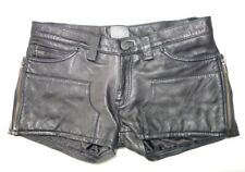 Levis Womens Shorts 100% Leather Size 27