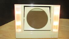 Vintage Avon Reflections of Beauty Lighted Vanity Make-Up Mirror 2 sided 1986