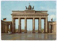 German orig. Postcard Berlin Brandenburger Tor 1959, farbig, orig. gelaufen RARE