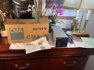 Sony CMA-7 Video Camera Power Supply Adapter +Original Box+Manual+Inserts WORKS