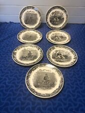 "7 Salad Plates - Villeroy & Boch Artemis Plates Are 7.5"" EUC"
