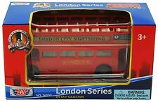"MotorMax London double decker open sightseeing tour bus 5"" diecast CAR model"