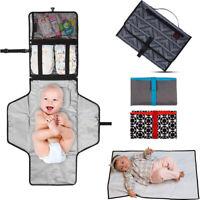 Newborns Foldable Waterproof Baby Diaper Changing Mat Portable Changing Pad