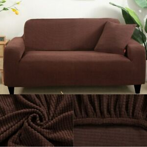 Jacquard Solid Printed Sofacover Thick Sofa Protector Ouch Cover Corner L Shape