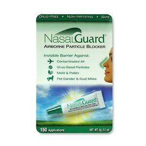 NASALGUARD Allergy Relief and Allergen Blocker Nasal Gel - Drug-Free and Prov...