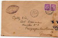 POSTAL  HISTORY  STATIONERY - RARE LETTER  EGYPT  TO  GERMANY  ON 21.04.1936 (z)